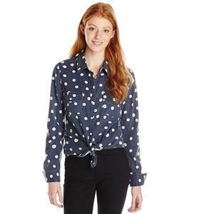 🔥Roxy Juniors Camp Site Long Sleeve Button NWT